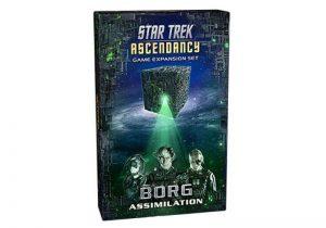 Battlefront Star Trek: Ascendancy  Star Trek Ascendancy Star Trek Ascendancy: Borg Assimilation - ST027 - 9781945625602