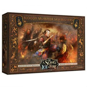 Cool Mini or Not A Song of Ice and Fire  Neutral A Song of Ice and Fire: Bloody Mummer Skirmishers - CMNSIF508 - 889696010148