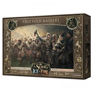 Cool Mini or Not A Song of Ice and Fire  Free Folk A Song of Ice and Fire: Free Folk Raiders - CMNSIF401 - 889696008565