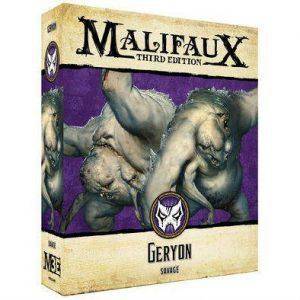 Wyrd Malifaux  Neverborn Geryon - WYR23412 - 812152031142