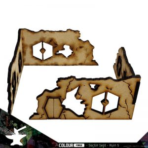 The Colour Forge   The Colour Forge Terrain Sector Sept Ruins #5 - TCF-SSR-005 - 5060843101536