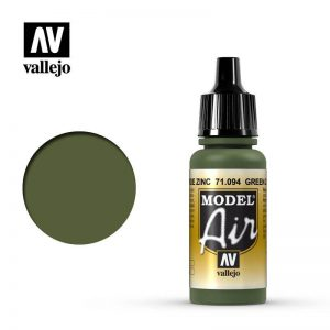 Vallejo   Model Air Model Air: Green Zinc Chromate - VAL094 - 8429551710947