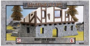 Gale Force Nine   Battlefield in a Box Wartorn Village - Large Ruins - BB590 - 9420020246980