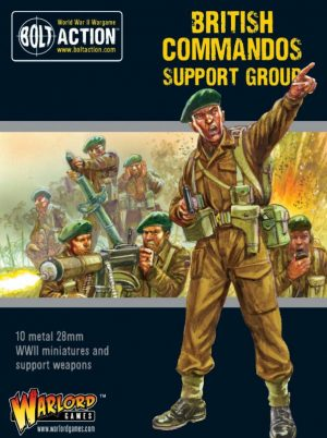 Warlord Games Bolt Action  Great Britain (BA) British Commandos Support Group - 402211102 - 5060572503069