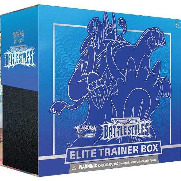 Pokemon Pokemon - Trading Card Game  Pokemon Pokemon - Battle Styles Elite Trainer Box (Blue) - POK80835 - 820650808357