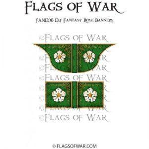North Star Oathmark  Oathmark Elf Fantasy Rose Banners - FANE08 -