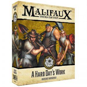 Wyrd Malifaux  Outcasts A Hard Day's Work - WYR23523 - 812152031661
