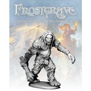 North Star Frostgrave  Frostgrave Frostgrave Snow Troll - FGV307 - FGV307