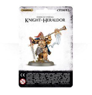 Games Workshop (Direct) Age of Sigmar  Stormcast Eternals Stormcast Eternals Knight-Heraldor - 99070218001 - 5011921061228