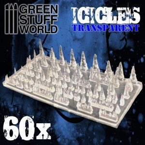 Green Stuff World   Green Stuff World Conversion Parts Resin Stalactites and Icicles - 8436574504064ES - 8436574504064