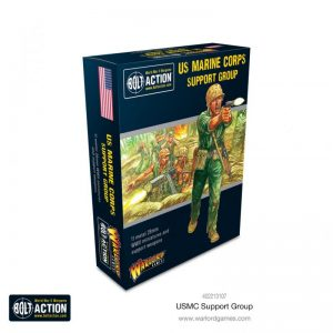 Warlord Games Bolt Action  United States of America (BA) USMC Support Group - 402213107 - 5060572506886