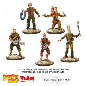 Warlord Games Strontium Dog  Strontium Dog Strontium Dog: Build-a-Mutie - 642215010 - 5060572500839