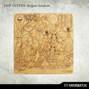 Kromlech   Modelling Extras HDF Glyphs: Stygian Symbols - KRMA052 - 5902216115385