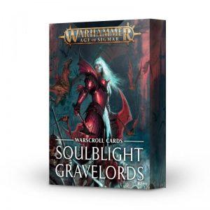 Games Workshop Age of Sigmar  Soulblight Gravelords Warscroll Cards: Soulblight Gravelords - 60050207001 - 5011921157419