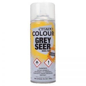 Games Workshop   Spray Paint GW Spray: Grey Seer - 99209999063 - 5011921154401