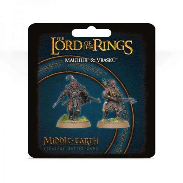Games Workshop (Direct) Middle-earth Strategy Battle Game  Evil - Lord of the Rings Lord of The Rings: Mauhúr and Vraskû - 99061462069 - 5011921136445