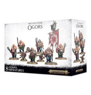 Games Workshop Age of Sigmar  Ogor Mawtribes Ogor Gluttons - 99120213019 - 5011921096749