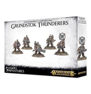 Games Workshop Age of Sigmar  Kharadron Overlords Kharadron Overlords Grundstok Thunderers - 99120205022 - 5011921082995