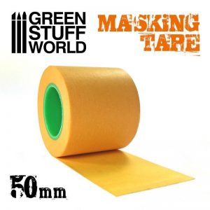 Green Stuff World   Airbrushes & Accessories Masking Tape - 50mm - 8436574509649ES - 8436574509649