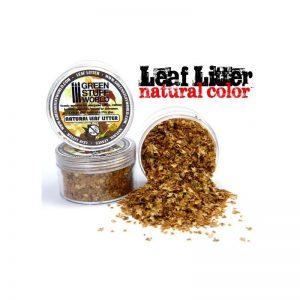 Green Stuff World   Lichen & Foliage Leaf Litter - Natural Leaves - 8436554362622ES - 8436554362622