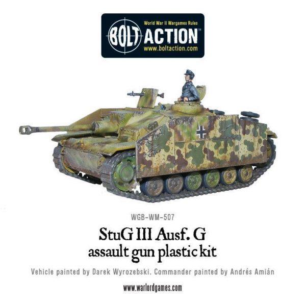 Warlord Games Bolt Action  Germany (BA) German Stug III ausf G or StuH-42 (plastic) - 402012007 - 5060200849743