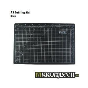 Kromlech   Cutting Mats Cutting Mat A3 Black - KRMA019BLA - KRMA019BLA