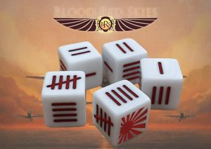 Warlord Games (Direct) Blood Red Skies  Blood Red Skies Japanese Blood Red Skies Dice - 773416001 - 5060393707141