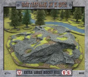 Gale Force Nine   Battlefield in a Box Battlefield in a Box: Extra Large Rocky Hill - BB533 - 9420020217560