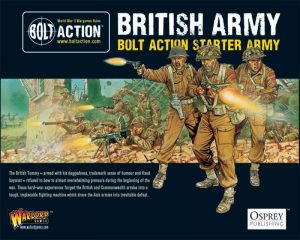 Warlord Games Bolt Action  Bolt Action Essentials British Starter Army - 409911012 - 5060572500198