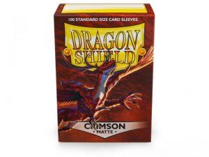 Dragon Shield   Dragon Shield Dragon Shield Sleeves Matte Crimson (100) - DS100MCR - 5706569110215