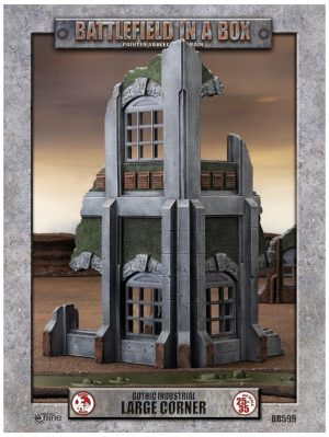 Gale Force Nine   Battlefield in a Box Gothic Industrial - Large Corner (x1) - 30mm - BB599 - 9420020247918