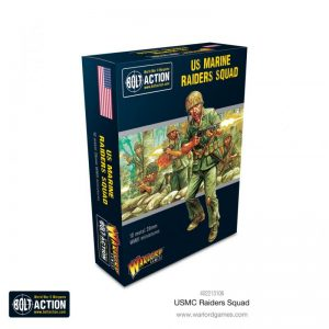 Warlord Games Bolt Action  United States of America (BA) US Marine Raider Squad - 402213106 - 5060572508026