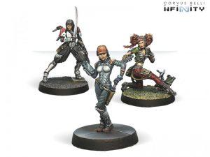 Corvus Belli Infinity  Infinity Essentials Dire Foes Mission Pack 3: Dark Mist - 280001-0441 - 2800010004412