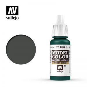 Vallejo   Model Colour Model Color: German Cam Extra Dark Green - VAL896 - 8429551708968