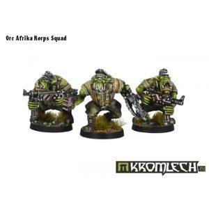 Kromlech   Orc Model Kits Orc Afrika Korps Squad - KRM046 - 5902216111691