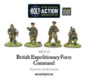 Warlord Games Bolt Action  Great Britain (BA) BEF Command - WGB-BI-58 - 5060200844960