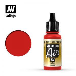 Vallejo   Model Air Model Air: Red RLM23 - VAL003 - 8429551710039