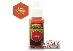 The Army Painter   Warpaint Warpaint - Lava Orange - APWP1106 - 2561106111116