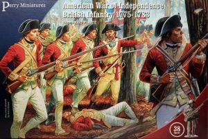 Perry Miniatures   Perry Miniatures American War of Independence British Infantry 1775-1783 - AW200 - AW200