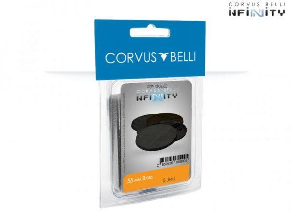 Corvus Belli Infinity  Plain Bases Infinity 55mm Bases - 285053 - 2850530000005