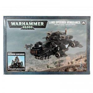 Games Workshop (Direct) Warhammer 40,000  Dark Angels Dark Angels Land Speeder Vengeance - 99120101098 - 5011921041879