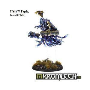 Kromlech   Heretic Legionary Model Kits T'kth'Y T'Yok, Herald Of Fate - KRM045 - 5902216111684