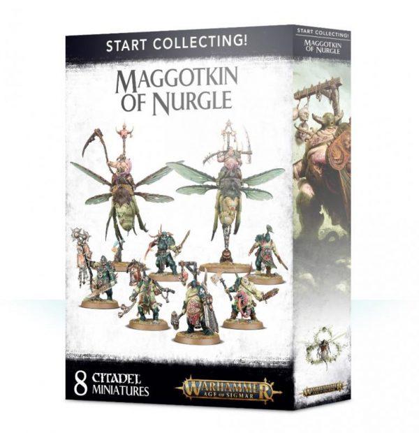 Games Workshop Age of Sigmar  Maggotkin of Nurgle Start Collecting! Maggotkin of Nurgle - 99120201079 - 5011921105335