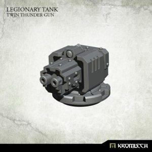 Kromlech   Vehicles & Vehicle Parts Legionary Tank: Twin Thunder Gun - KRVB057 - 5902216117396
