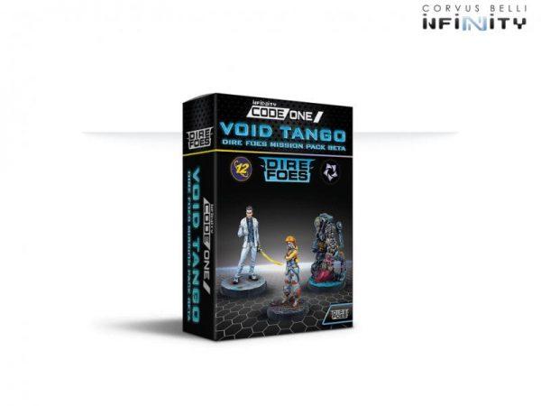 Corvus Belli Infinity  O-12 Dire Foes Mission Pack Beta: Void Tango - 280035-0845 - 2800350008453
