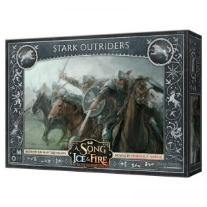 Cool Mini or Not A Song of Ice and Fire  House Stark A Song of Ice and Fire: Stark Outriders - CMNSIF102 - 889696005571