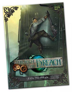 Wyrd Through the Breach  Through the Breach Through The Breach: Into the Steam - WYR30104 - 9780990589624