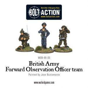 Warlord Games Bolt Action  Great Britain (BA) British Army Forward Observer Team - WGB-BI-55 - 5060200844816