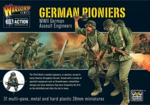 Warlord Games Bolt Action  Germany (BA) German Pioneers - 402012002 - 5060200847619