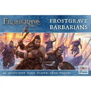 North Star Frostgrave  Frostgrave Frostgrave Barbarians - FGVP04 - 9781472896278